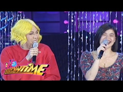 It's Showtime Miss Q & A: Vice Ganda comically share the duration of his current relationship