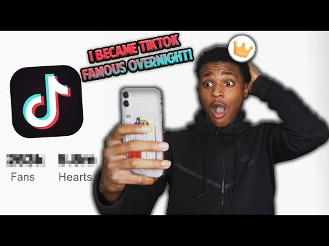 I BECAME TikTok FAMOUS OVERNIGHT!!😱📈 WATCH HOW I DID IT!! *MUST WATCH*