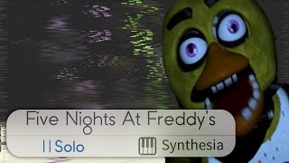 Five Nights at Freddy's - The Living Tombstone - Synthesia HD