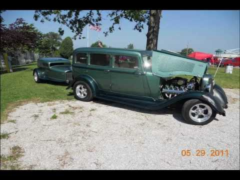 streetrods and hotrods NSRA car show in Springfield, Missouri 2011 photos #2