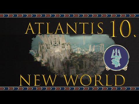 The Final Carthaginian Defeat 10# Atlantis campaign New world mod - Let's play - Total War : Rome II