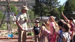 New Greenhouse, Garden Serve as Science Labs