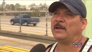 Oficiales evitan una tragedia en las vías del metro – Noticias 62 - Thumbnail