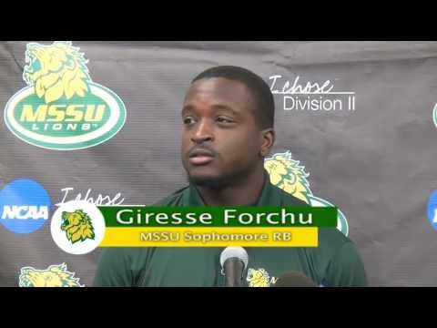 Giresse Forchu Press Conference Week 2