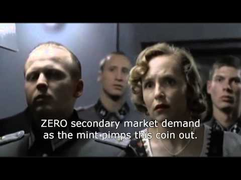 Hitler Reacts to US Mint release of JFK gold coin