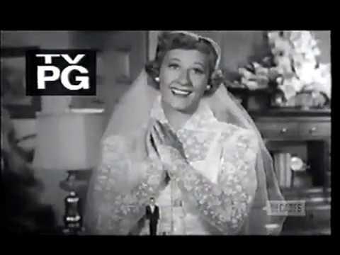 Television's Vintage Black & White era: I Married Joan (show opening)