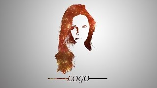 Photoshop Tutorial | Face Logo Design | Galaxy Effect