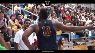 James Harden Silences Heckler on his way to 42pts at The Drew League Playoffs Quarter Finals