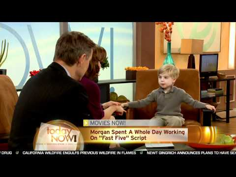 Interview with the 5 year old screenwritter of 'Fast Five'