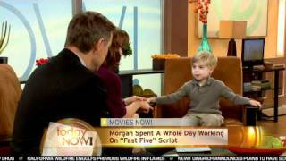 Nonton Today Now! Interviews The 5-Year-Old Screenwriter Of