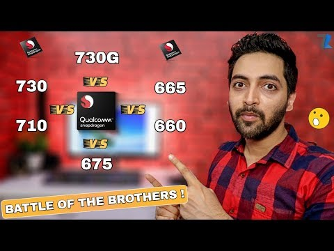 Qualcomm Snapdragon 730 vs 710 vs 675 vs 665 vs 660 | Who Has More Power??💪