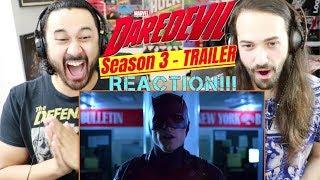 Marvel's DAREDEVIL: SEASON 3 | Official TRAILER - REACTION!!!