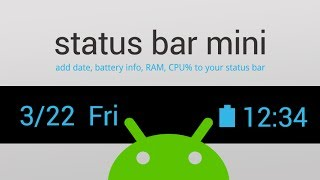 Video Status Bar Mini - 1.0.123