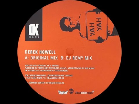 Derek Howell ‎– Yah Yah (Original Mix)