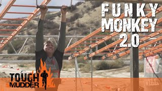 Tough Mudder | Funky Monkey 2.0 | 2015 Obstacles - YouTube