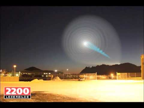 Spiral - If you have broadband be sure to watch in highest quality Full Screen!! A spiral formation appeared in the sky above Norway around 8am on December 9, 2009. T...