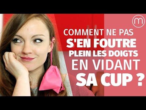 Comment ne pas s'en foutre plein les doigts en vidant sa cup (et autres conseils techniques) (видео)