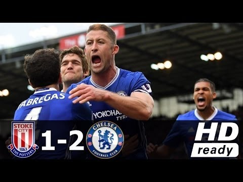 Stoke City vs Chelsea 1-2 - All Goals & Highlights - Premier League 18/03/2017 HD
