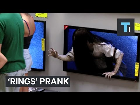 Prank Promoting The New 'Rings' Movie Is Genuinely Frightening