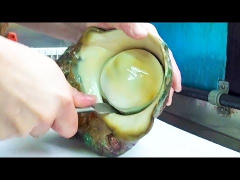 GIANT SEA SNAIL! Great Green Turban Sashimi - Japanese Street Food in Okinawa - Thời lượng: 11 phút.