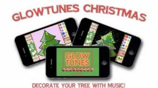 GlowTunes Christmas YouTube video