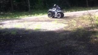 8. Quad Kymco Mxu 450 - Epic Quad - ATV Crash - Quad Crash 2016