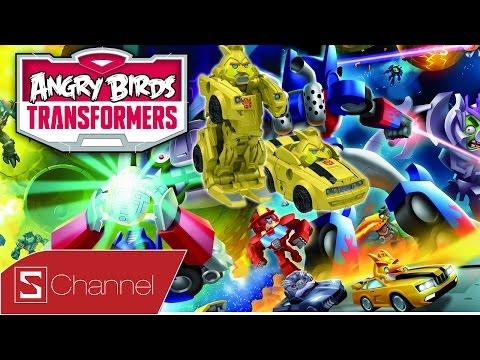 Giới thiệu Games Angry Birds Transformers