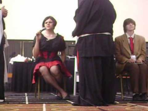 A2F Dating Game - Light Yagami kisses a crossdresser