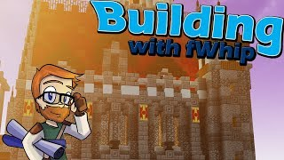 Building with fWhip :: Castle Feast Hall Progress :: #65 Minecraft 1.12 Single Player Survival