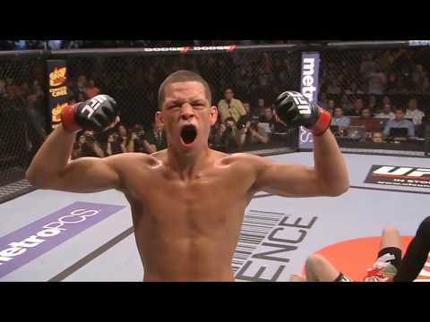 Nate Diaz TOP 10 Punches UFC HD