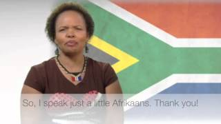 The Language of Africa series highlights a number of languages spoken around the continent and explores the personal and cultural connections each language h...
