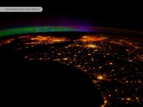 Raw: NASA Ultra HD Video of Aurora Borealis