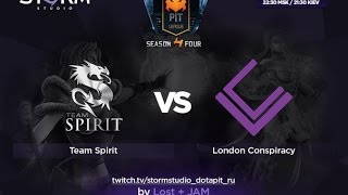 London vs Spirit, game 1