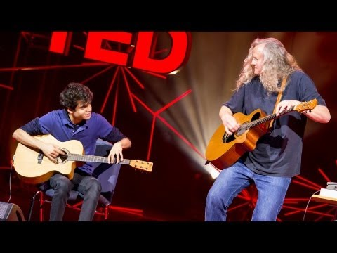 riaz - http://www.ted.com Usman Riaz is a 21-year-old whiz at the percussive guitar, a style he learned to play by watching his heroes on YouTube. The TED Fellow pl...