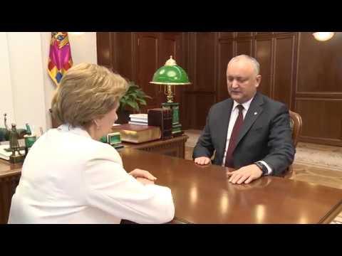 Președintele țării a avut o întrevedere de lucru cu Președintele Parlamentului