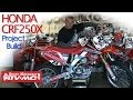 Honda CRF250X Trail Bike Project Build