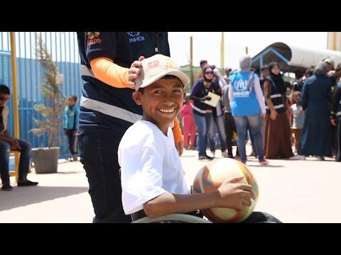 الأردن: الذكرى السنوية الأولى لافتتاح مخيم الأزرق للاجئين السوريين