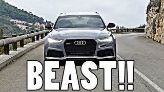 THE ULTIMATE DAILY DRIVER: 730BHP AUDI RS6!! by Supercars of London