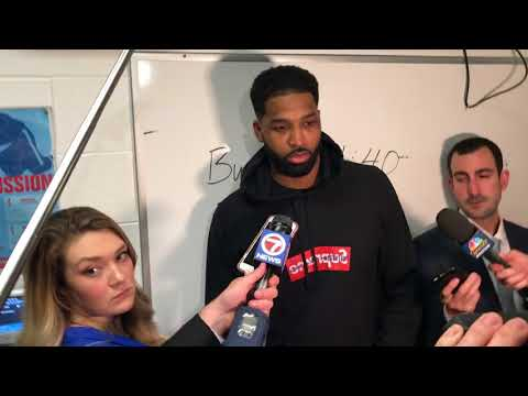 Tristan Thompson said the Cavs played terrible defense in Game 2 against Boston