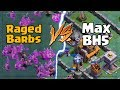 All Raged Barbarians VS Max Level Builder Hall 5 | Clash of Clans