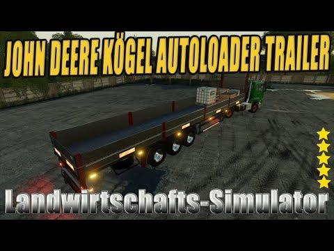 FS19 CLAAS KOGEL AUTOLOADER TRAILER v1.0