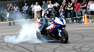8. Teach on the BMW S1000RR