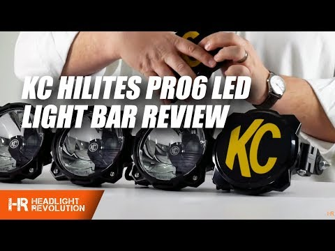 Kc Hilites Pro6 Led Light Bar Review And Demonstration
