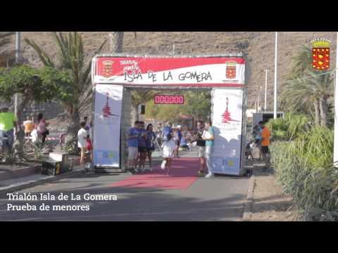 Triatlón Isla de La Gomera 2014 (Menores)