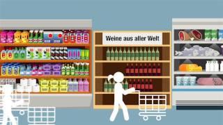 Die Deutschen trinken immer mehr Wein. Außerdem ändert sich das Kaufverhalten. Worauf sich Produzenten und Händler einstellen müssen, hat eine Studie im Auftrag der Fachmesse ProWein herausgefunden. Sie zeigt deutliche Trends beim Shopping des Schoppens (Quelle: m4-tv.com/mtx).