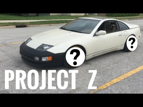 Project Z Nissan 300ZX Build (Wheels & Fitment) #4