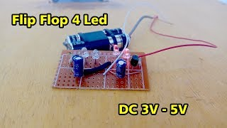 Video Membuat Lampu Flip Flop 4 Led 3V-5V MP3, 3GP, MP4, WEBM, AVI, FLV Juli 2018