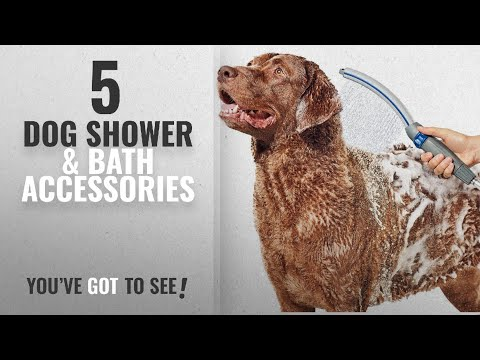 Top 10 Dog Shower & Bath Accessories [2018 Best Sellers]: Waterpik PPR-252 Pet Wand Pro Dog Shower