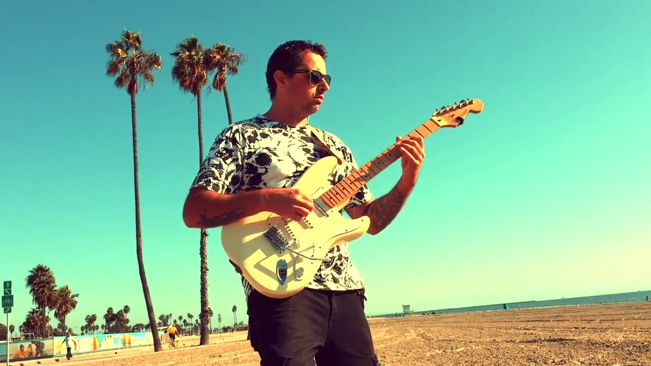 Stratocaster Buleria – Ben Woods ELECTRIC FLAMENCO guitar album
