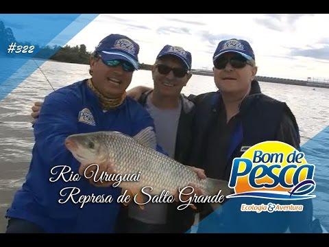 Pescaria de dourados e piaparas no Rio Uruguai